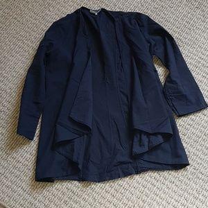 standard james perse drape cotton cardigan